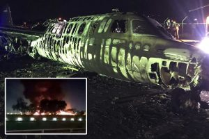 Air ambulance bursts into flames in Philippines killing all 8 on board, including an American & Canadian