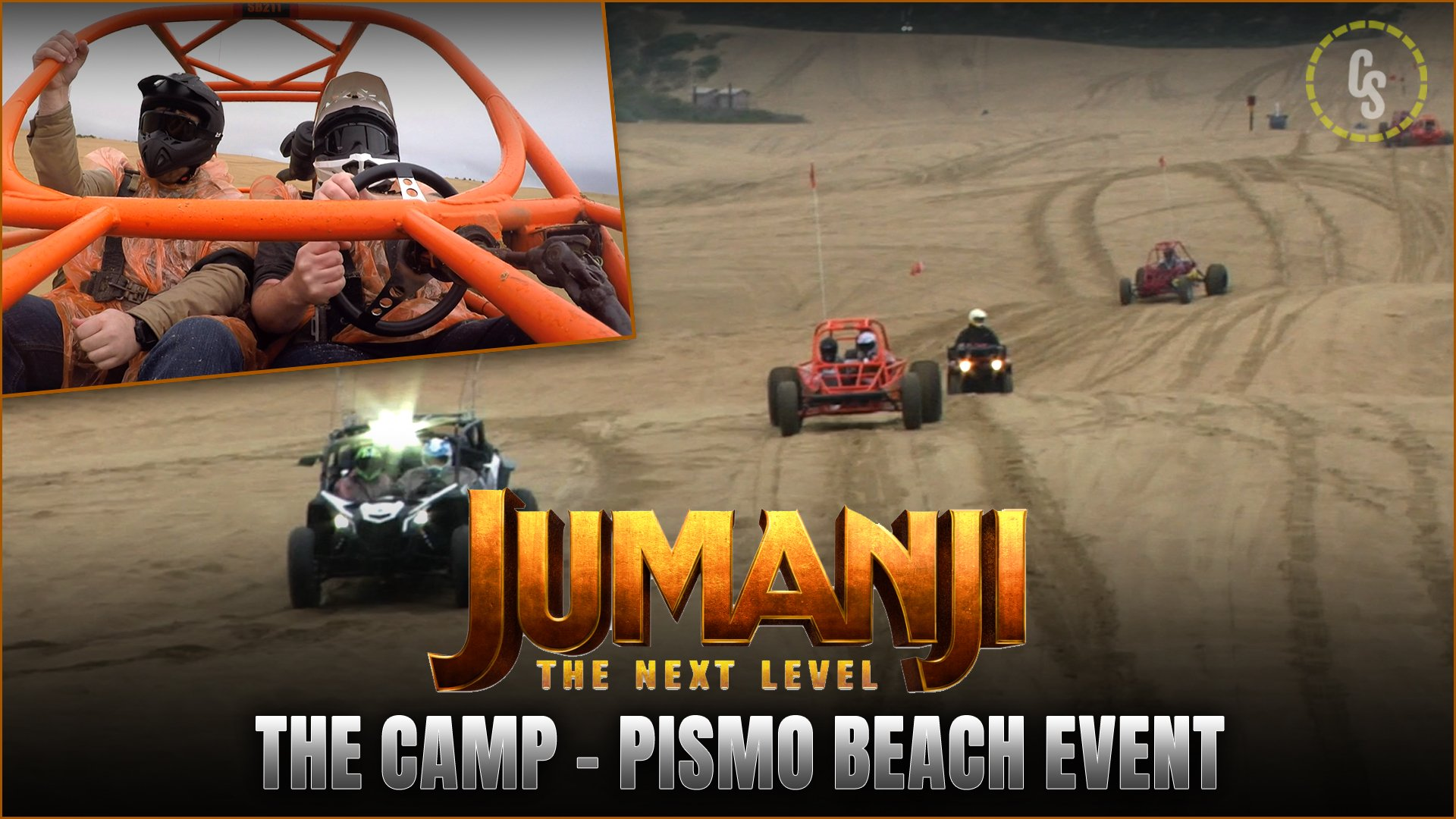 CS Video: Riding Dune Buggies on Pismo Beach for Jumanji: The Next Level