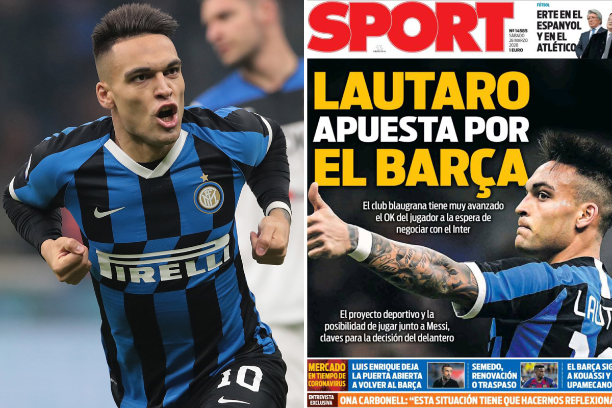 Chelsea dealt huge transfer blow as Lautaro Martinez 'agrees personal terms with Barcelona'