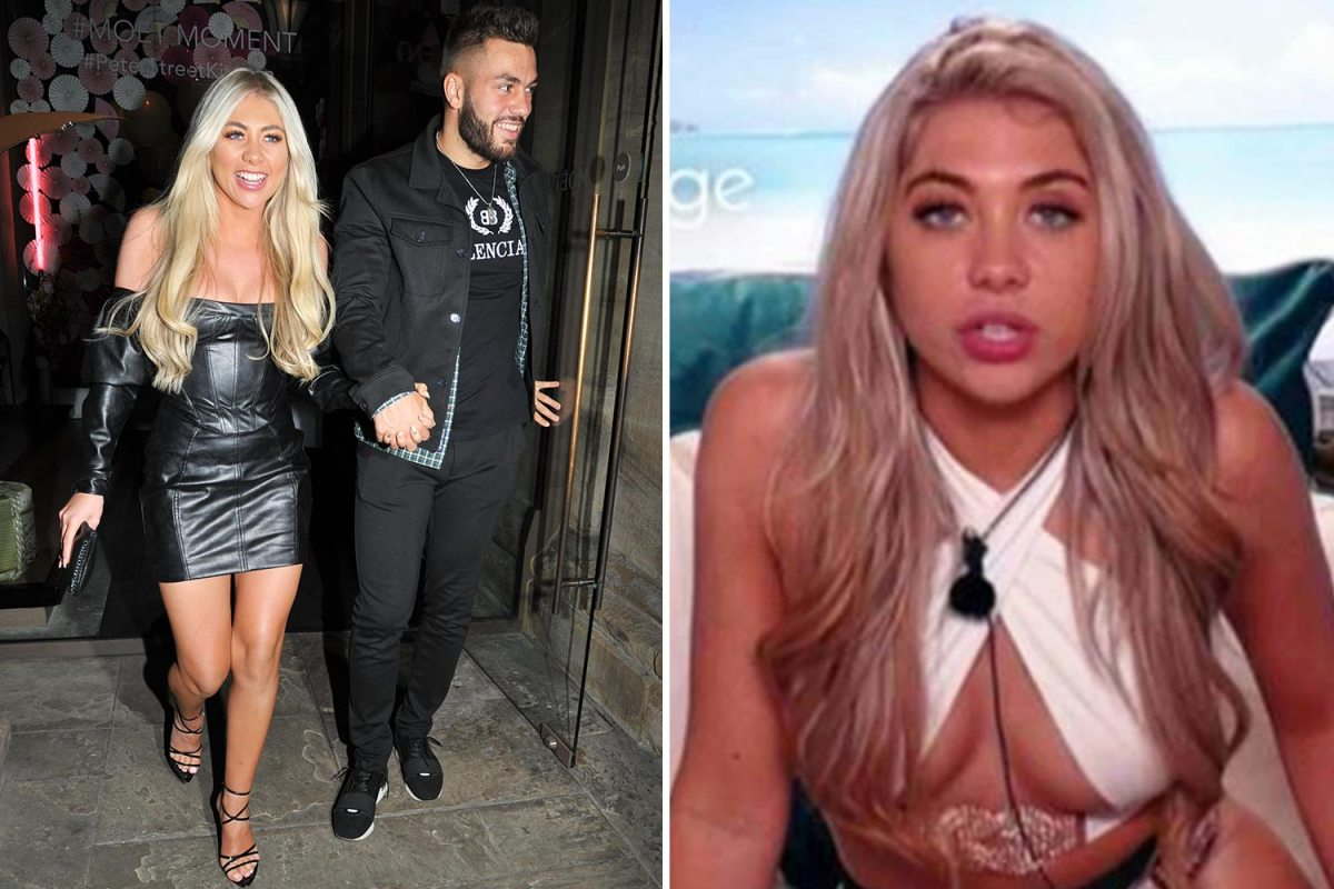 Love Island's Paige and Finn party in Manchester with Callum and Jamie as they work out where to live together