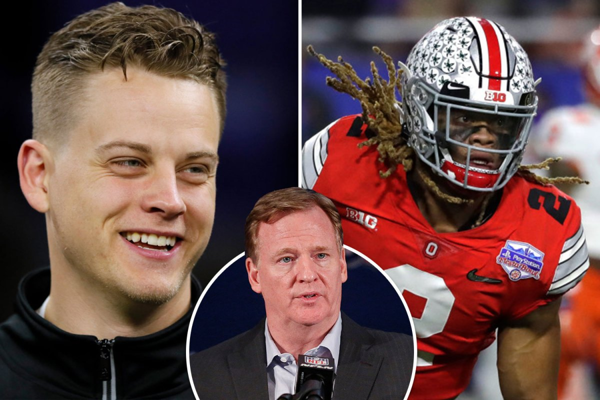 NFL Draft LIVE RESULTS: Stream FREE, TV channel as Burrow No1 pick while Tagovailoa heads to Miami – latest updates