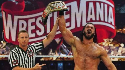 WrestleMania 36 results: Drew McIntyre makes history by beating Brock Lesnar to become the first British WWE Champion