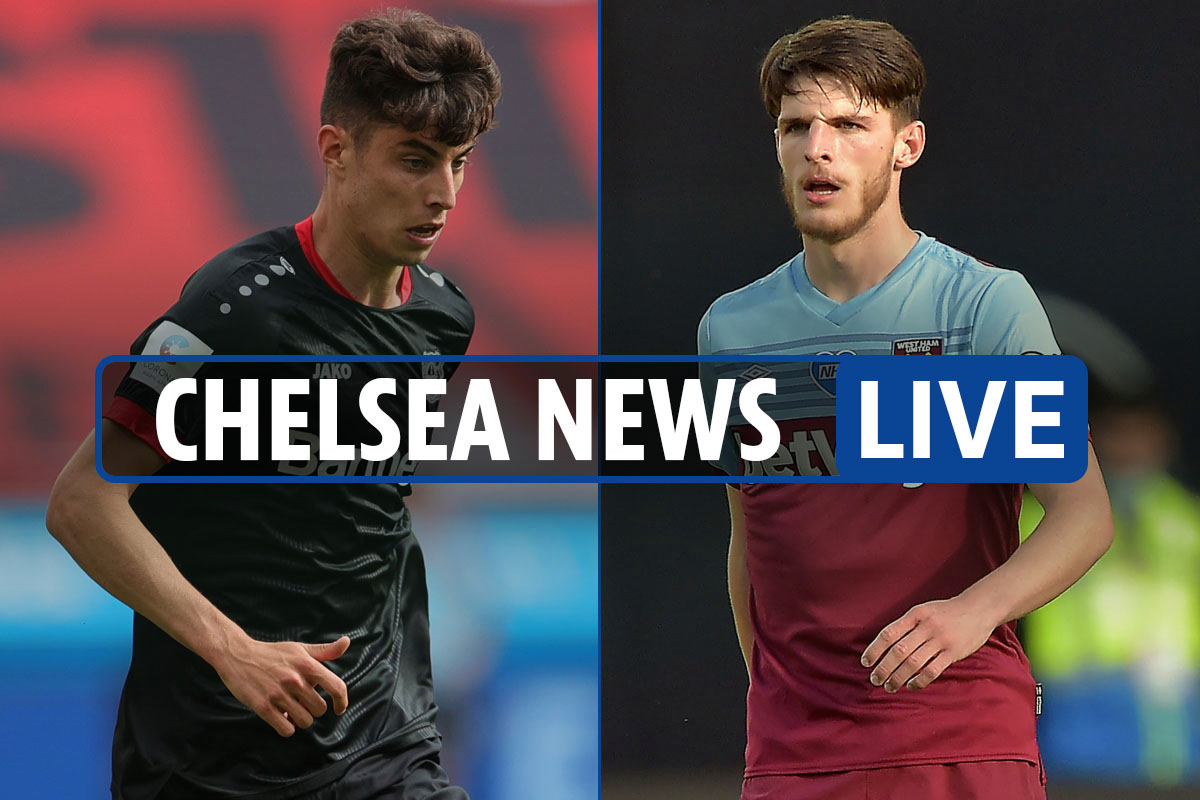11am Chelsea news LIVE: Kai Havertz transfer LATEST, Declan Rice EXCLUSIVE, Timo Werner updates, Pulisic to do Salah