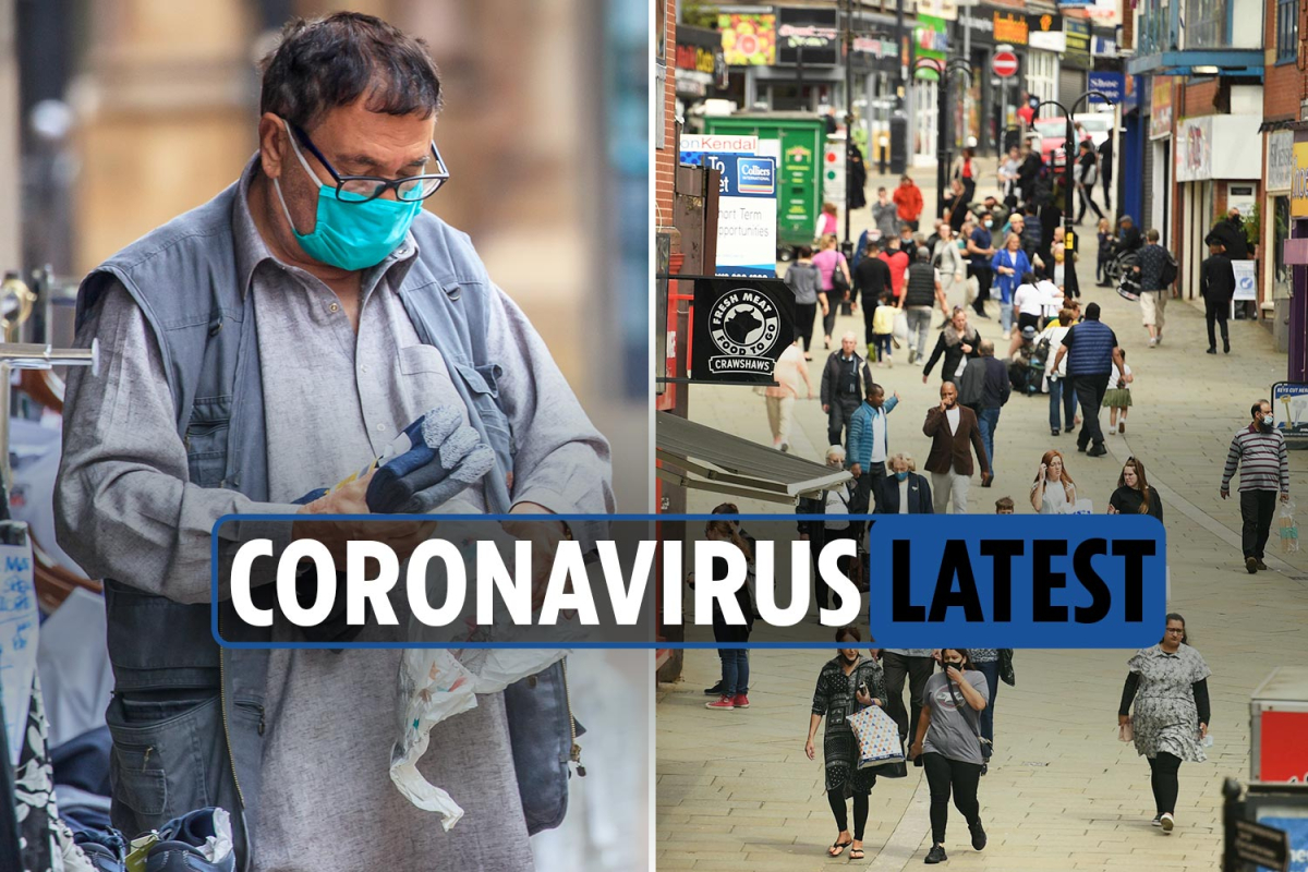 Coronavirus UK news LIVE: Greater Manchester hit with lockdown restrictions from midnight tonight as deaths reach 45,999