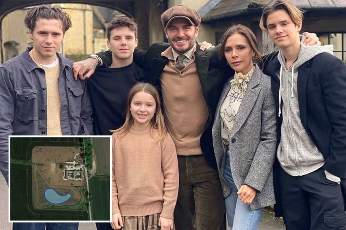 David and Victoria Beckham's bid to build a huge lake at £6m Cotswolds property blocked to protect bird habitats