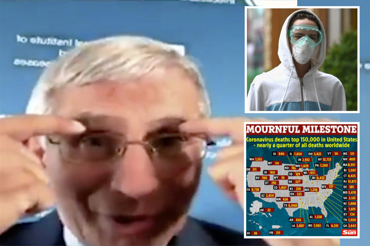 Dr Fauci now says to wear goggles too for 'perfect' coronavirus protection amid fears infection can spread through EYES