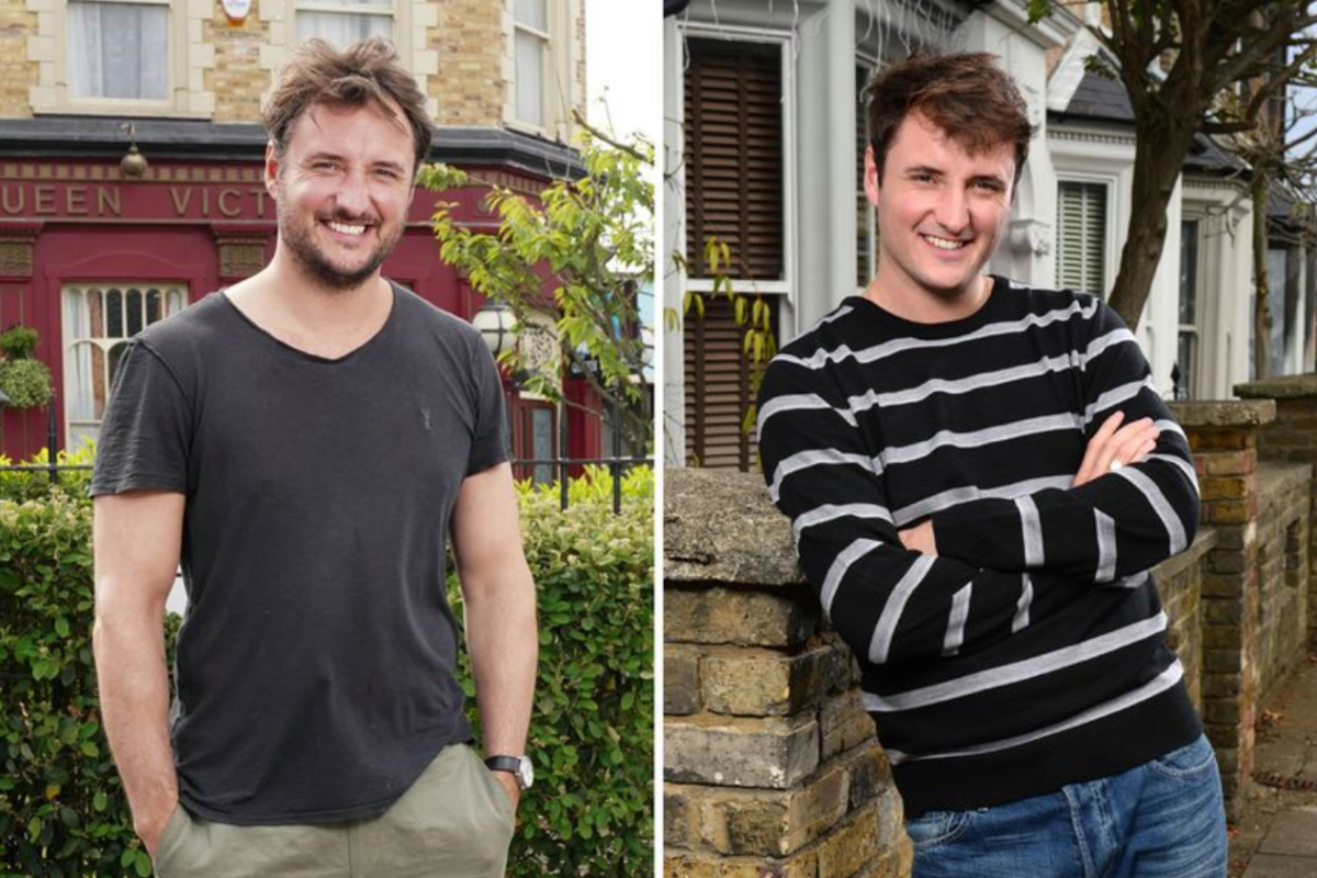 EastEnders star James Bye admits he's lost hair playing Martin Fowler during his six years on the soap