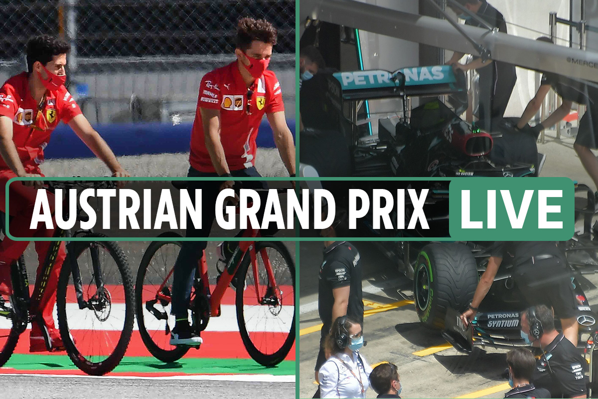 F1 Austrian Grand Prix LIVE: UK start time, live stream, TV channel and race schedule with latest from the Red Bull Ring