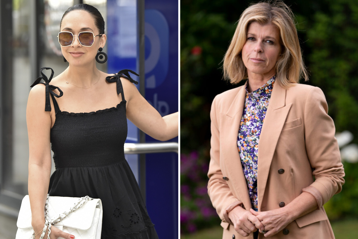 Kate Garraway is 'always in touch' with friend Myleene Klass as she takes leave to be by husband Derek Draper's side