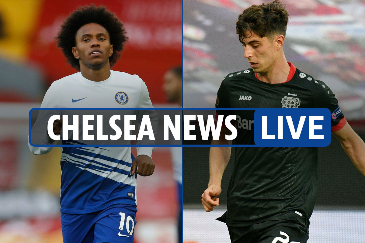 8pm Chelsea transfer news LIVE: Havertz LATEST, Willian OUT of squad for Bayern, Lampard 'not convinced' by Abraham