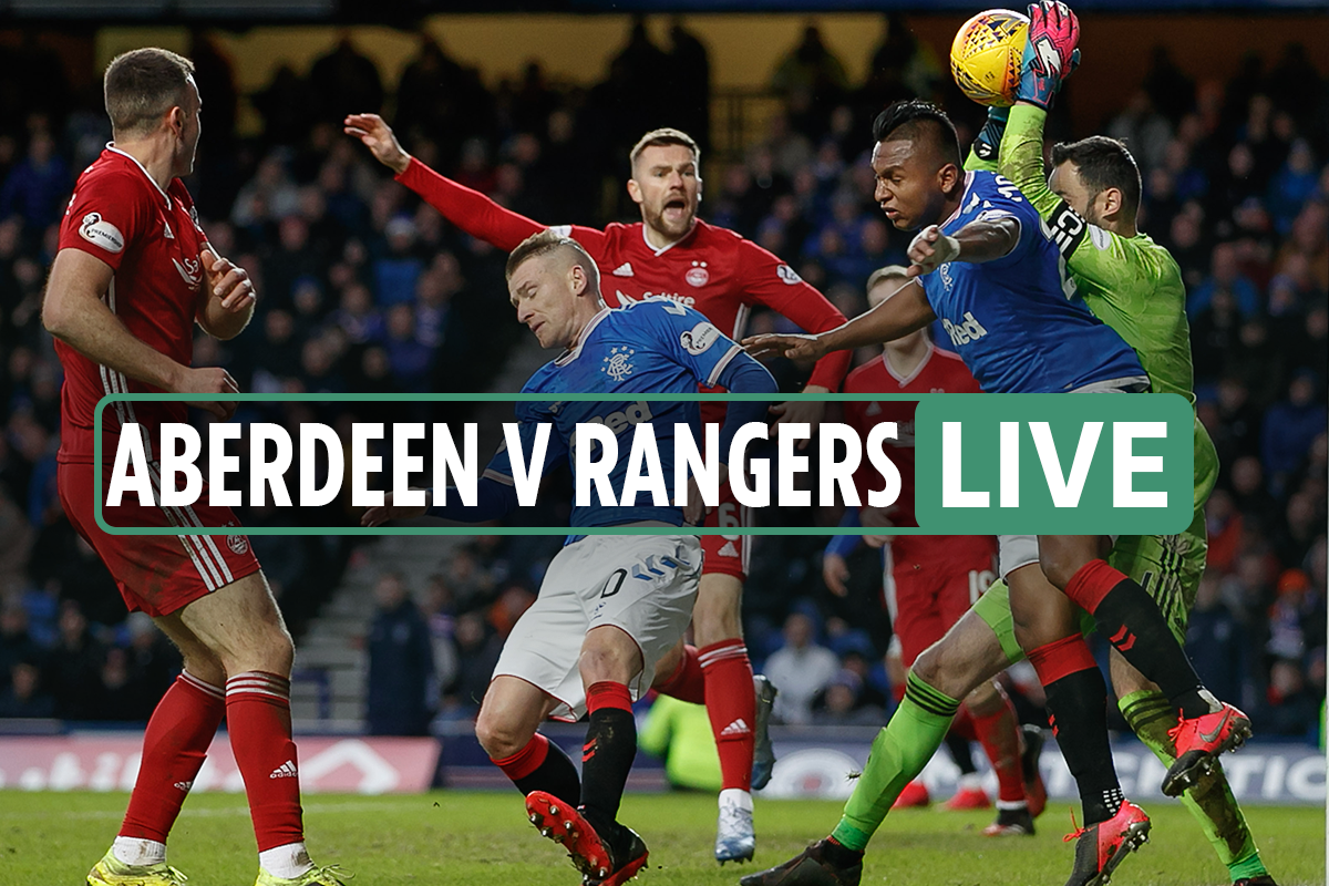 Aberdeen vs Rangers LIVE: Stream, TV channel, team news as Morelos and Hagi START – Scottish Premiership latest updates