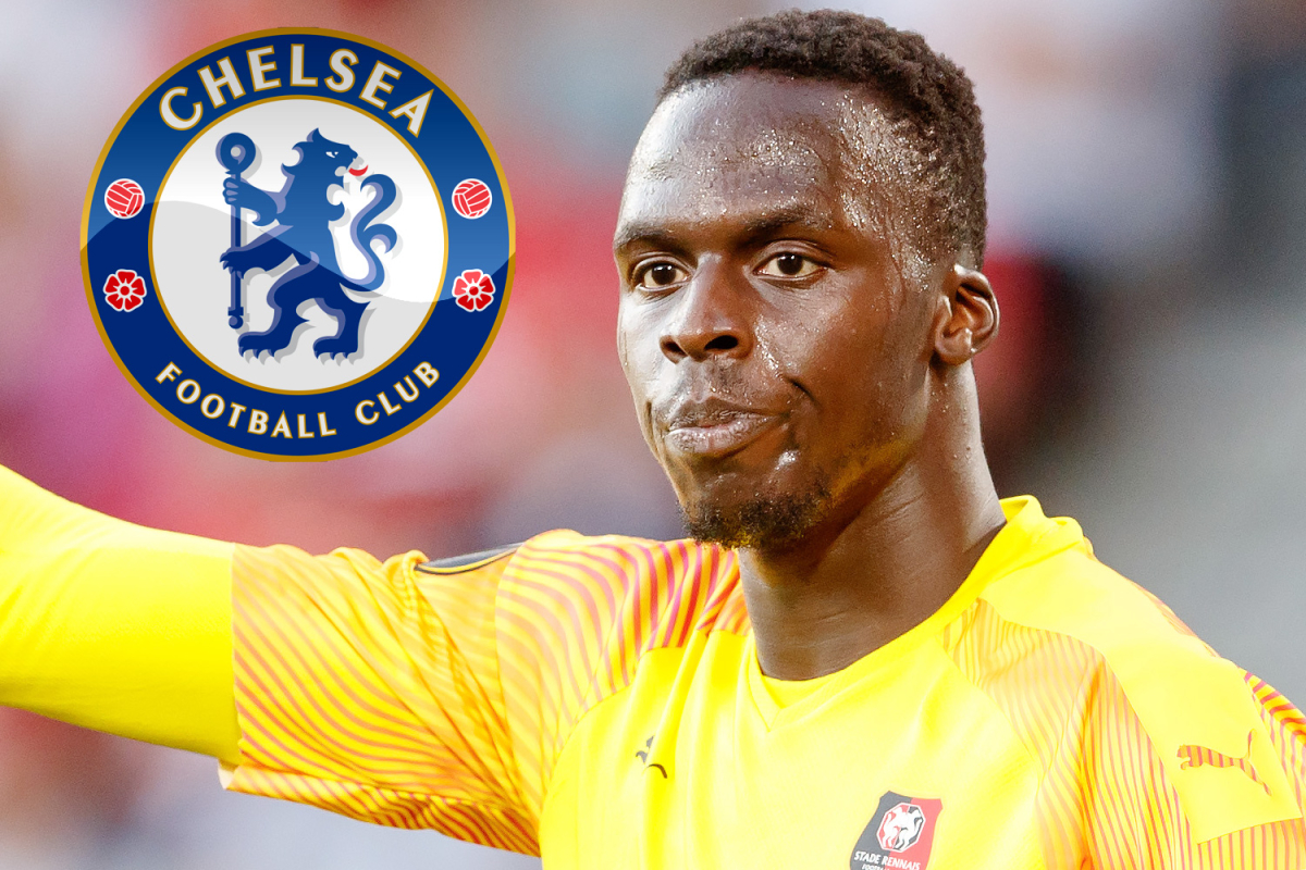 Chelsea have £15m transfer offer for Rennes keeper Edouard Mendy rejected as search for Kepa replacement continues