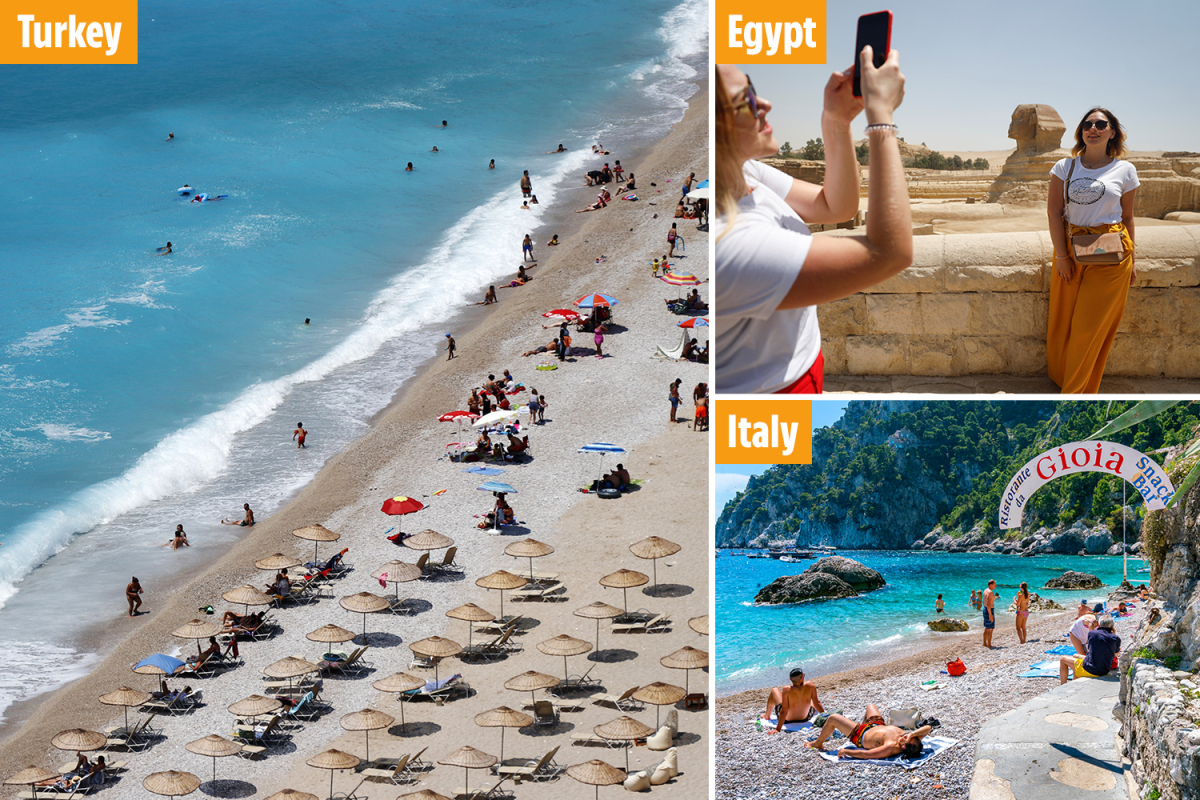 The safest holiday destinations this month – least at risk of going on UK's quarantine list