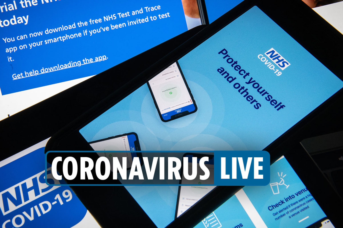 4pm Coronavirus UK latest – Contact tracing app to launch in September as Portugal put on quarantine list