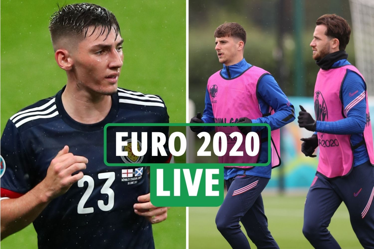 Euro 2020 LIVE: Mount and Chilwell self-isolate LATEST, England qualify for next round, Last 16 opponents