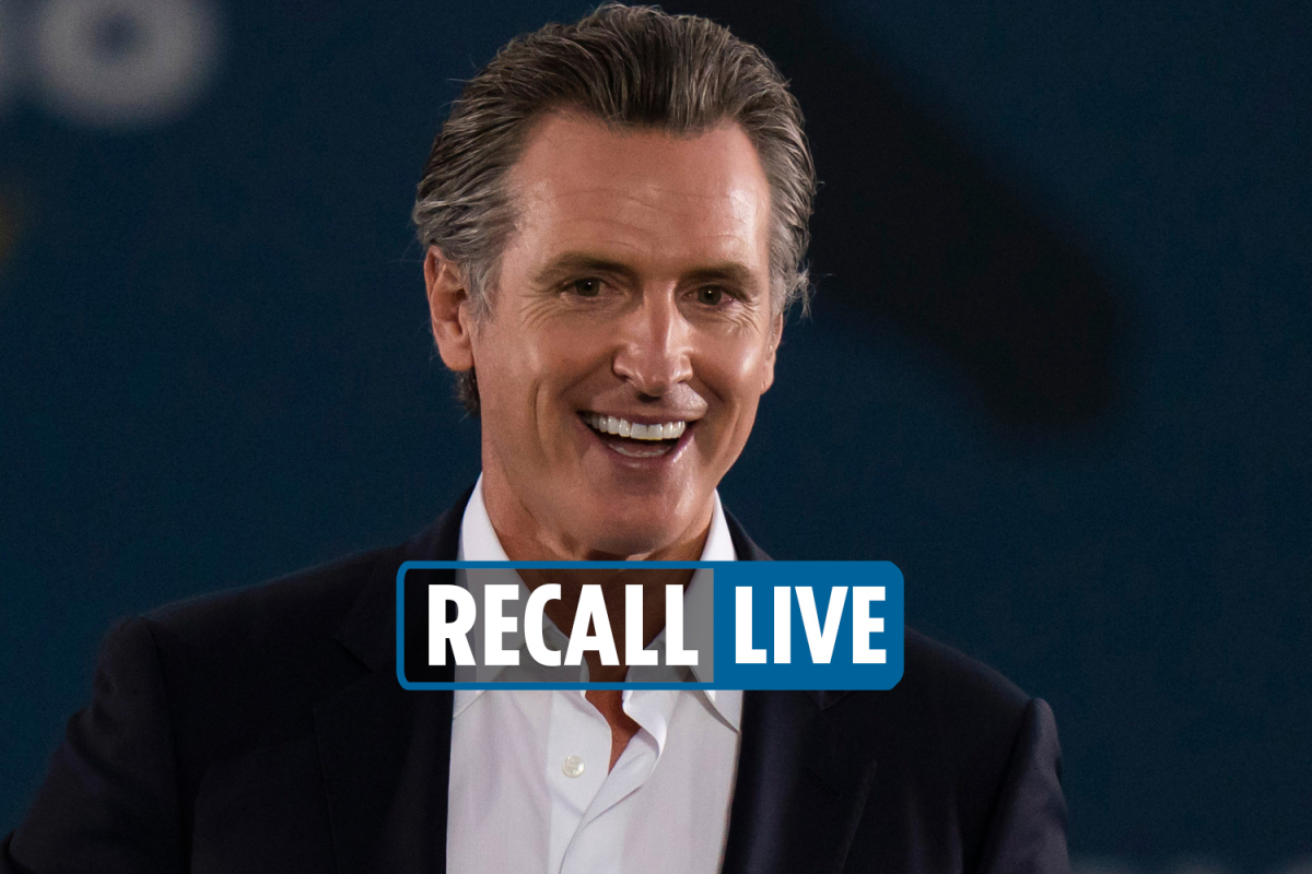 California recall election results LIVE – Larry Elder tells fans to 'fight election fraud' as he battles Gavin Newsom